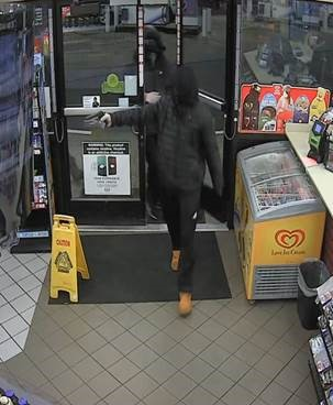 Suspect 1 in two armed robberies that occurred in Kent in the early morning hours of Dec. 3, 2018.