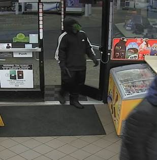 Suspect 2 in two armed robberies that occurred in Kent in the early morning hours of Dec. 3, 2018.