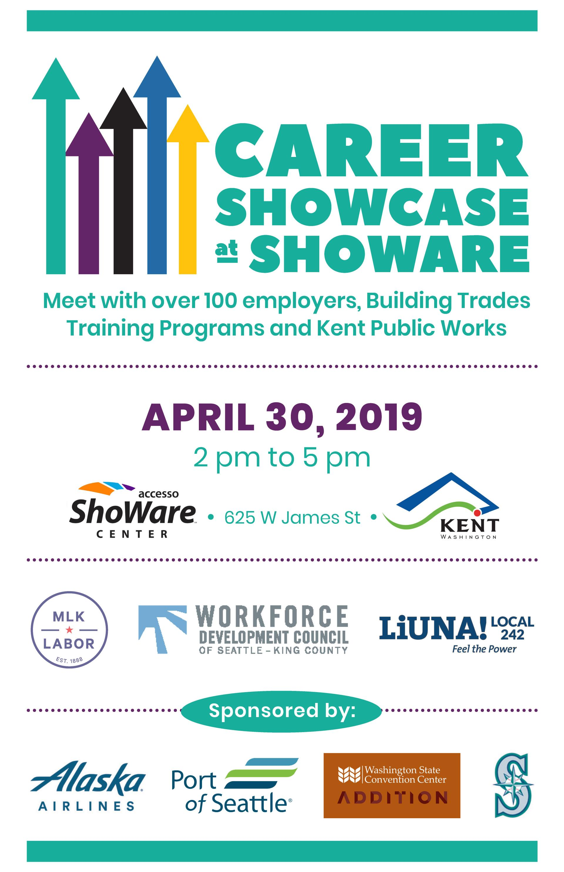 Career Showcase at ShoWare, April 30. 2019