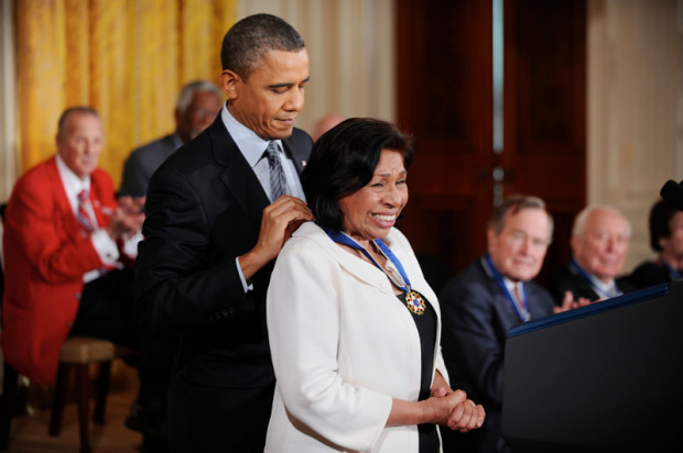 Sylvia Mendez, Civil Rights Activist and Recipient of Presidential Medal of Freedom, will speak in Kent on November 14, 2019.