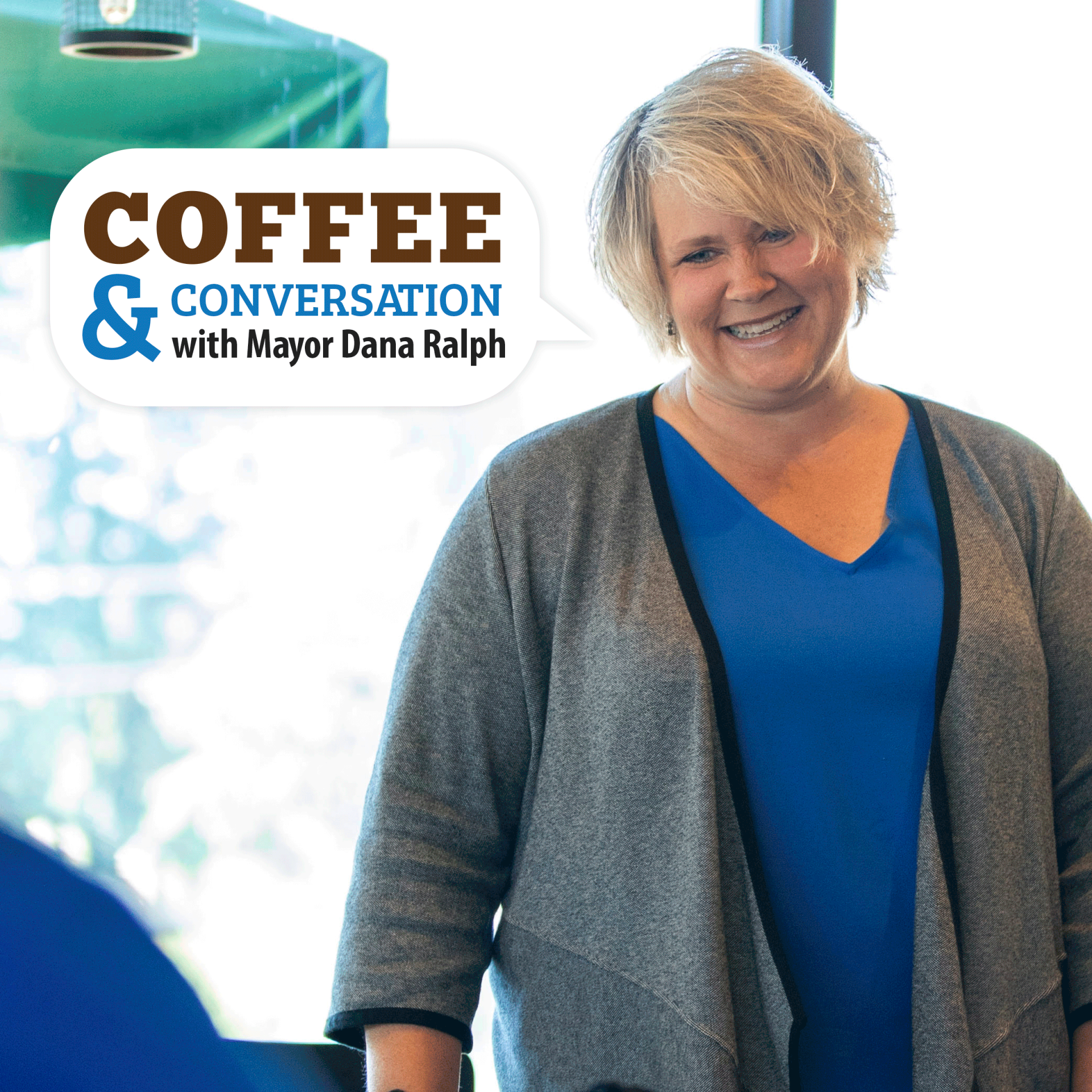 Join Mayor Dana Ralph for Coffee & Conversation on Dec. 3, 2019 at the Kent Senior Center.