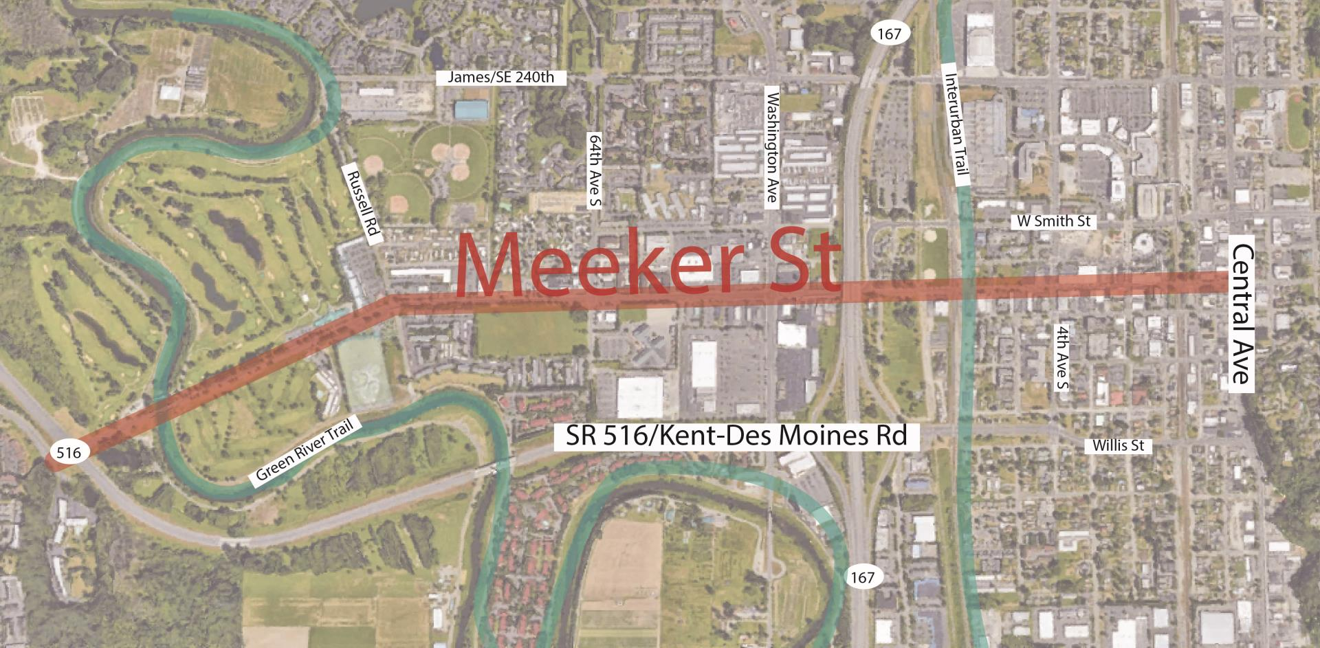 Meeker Overview Aerial Map-01