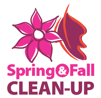 SpringFall CleanUp Logo