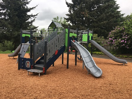 Green View play structure