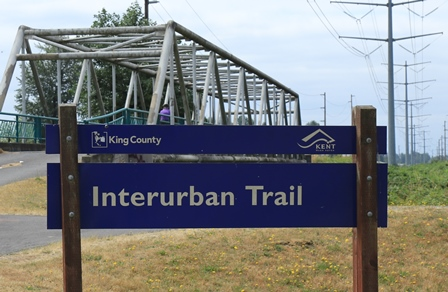 Interurban Trail sign