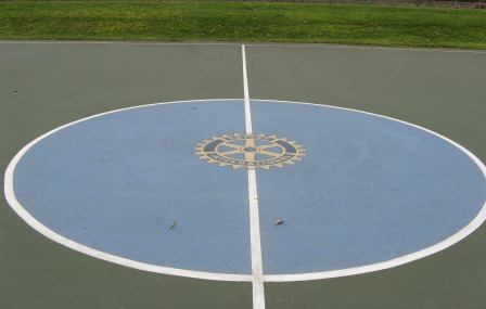 Kent Rotary Basketball Court logo