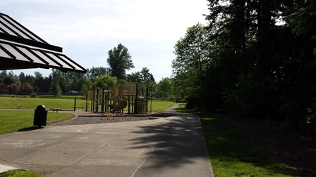 Morrill Meadows playground view