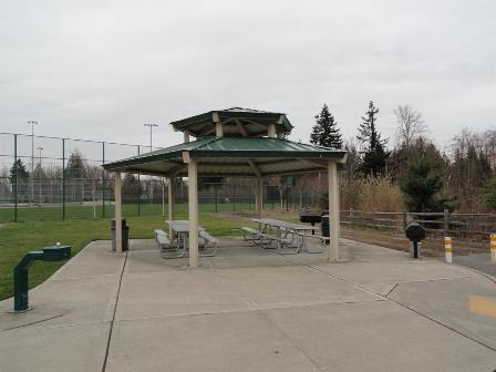 Service Club picnic shelter