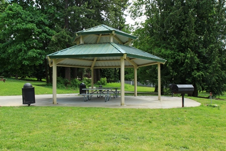 Turnkey picnic shelter