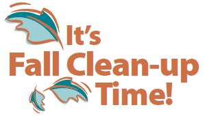 2018 Fall Cleanup Logo