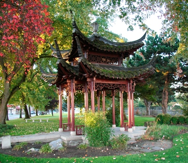 Burlington Green Yangzhou Chinese pagoda