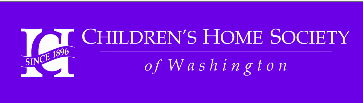 Children's Home Society of WA logo