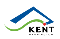 City of Kent logo, color